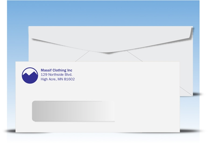 window envelopes Latex